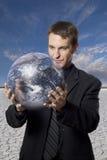 Interesses de negócio global Imagem de Stock