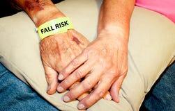 Interessieren für die älteren Personen Lizenzfreie Stockfotos