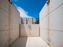 Interessieren Sie Gebäude von Salk-Institut für biologische Studien Stockbild