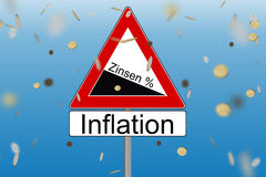 Interest and Inflation Stock Photos
