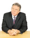 Interested Businessman Stock Image