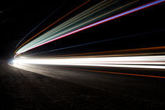 Abstract car lights Royalty Free Stock Photo