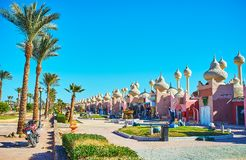 Eastern bazaar of Sharm El Sheikh, Egypt royalty free stock images