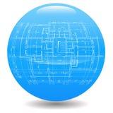 Architecture logo Royalty Free Stock Image