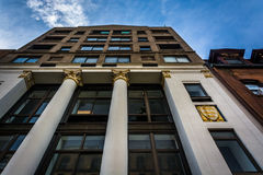 Interesting architecture along 23rd Street in Manhattan, New Yor Stock Images