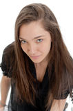 Interesting attractive girl Royalty Free Stock Photos