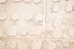 Interesting background texture - wall. royalty free stock image