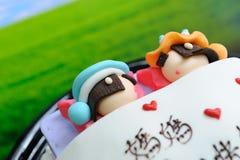 Interesting birthday cake Stock Photo