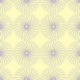 Interesting blue seamless pattern Stock Photos