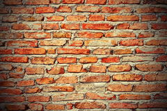Interesting brick wall texture Royalty Free Stock Images
