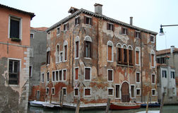 Interesting building in Venice, the city of water Stock Photo