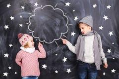 Interesting children Royalty Free Stock Photo