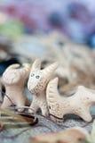 Interesting clay whistles Stock Photo