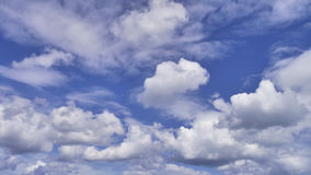 Interesting cloud pattern Royalty Free Stock Image