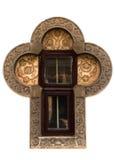 Interesting cross-shaped window Royalty Free Stock Photography
