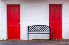 Interesting Doorways Stock Photography