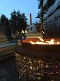 Interesting Firepit Royalty Free Stock Images