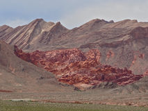 Bowl of Fire in Lake Mead National Recreation Area, Nevada Stock Images