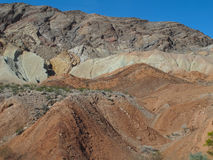Colorful Hills in Lake Mead National Recreation Area, Nevada Royalty Free Stock Images