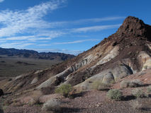 Hill in Lake Mead National Recreation Area, Nevada Stock Photography
