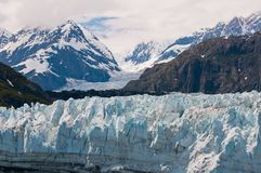 Interesting glacial textures Royalty Free Stock Photography