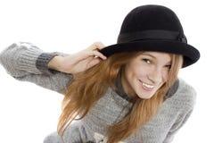 Interesting hat Royalty Free Stock Photo