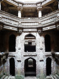 Interesting Indian architecture. An intricately-carved, beautifully-lit, historic architecture of India stock photography