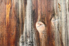 Interesting knot on wood texture Royalty Free Stock Photo