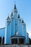 Interesting, modern church Royalty Free Stock Photography