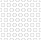 Interesting Monochrome Concave Ball Pattern Background. Interesting Concave Ball in White Color  Background Stock Images