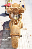 Interesting motorcycle  for decoration Royalty Free Stock Photos