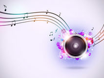 Interesting Music Background Stock Images