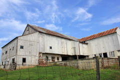 Interesting old barn Royalty Free Stock Images