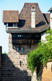 Interesting old house in Nuremberg Royalty Free Stock Photography