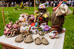 Interesting and original handmade Souvenirs Royalty Free Stock Images