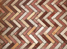Very interesting backgrounds patterned bricks. Interesting part of the wall Royalty Free Stock Images