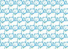 Interesting patterns of cat Stock Photography