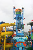 Interesting recreation facility in Chimelong Water Park Stock Images