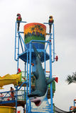 Interesting recreation facility in Chimelong Water Park Stock Photo