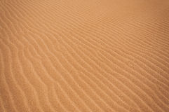 Sand Ripples Royalty Free Stock Photo