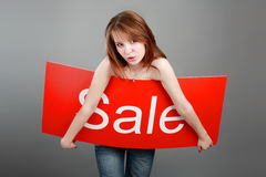 Interesting sale Royalty Free Stock Photography