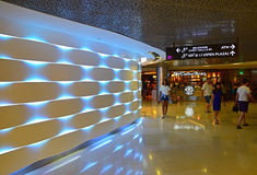 An interesting section inside ION Orchard Shopping Mall Singapore Royalty Free Stock Photography