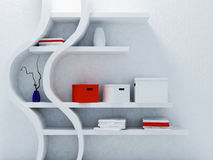 Interesting shelf in interior