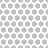 Interesting Silver Color Dots on White Background. Interesting Silver Color Dots Pattern on White Isolated Background Stock Photography