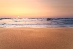 Interesting sky summer landscape dawn. / early morning sunrise stock photography