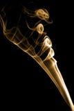 Interesting smoke shape. Stock Images