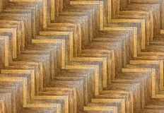Interesting striped parquet pattern Royalty Free Stock Images