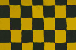 Interesting texture of a chessboard Royalty Free Stock Photos