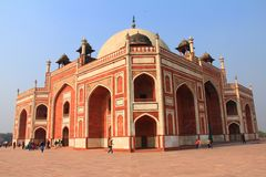 An interesting view of  Jama Masjid/Mosque Royalty Free Stock Images