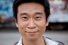 Interestng Asian Man Royalty Free Stock Image